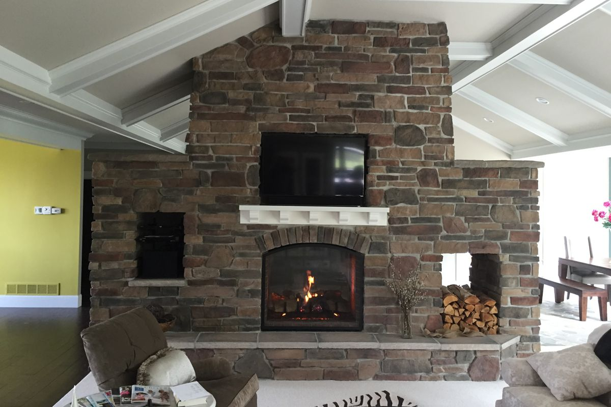 Custom fireplace Bradenton FL